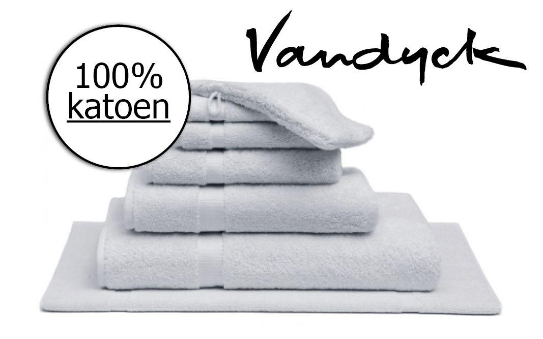 Handdoek Vandyck silver grey