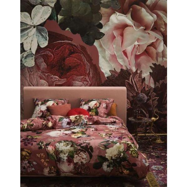 Dekbedovertrek Essenza Fleur dusty rose