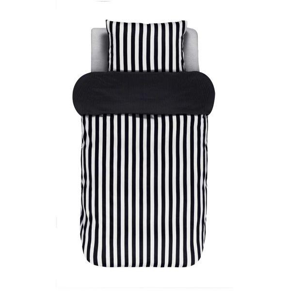 Dekbedovertrek Marc O'Polo Classic Stripe zwart