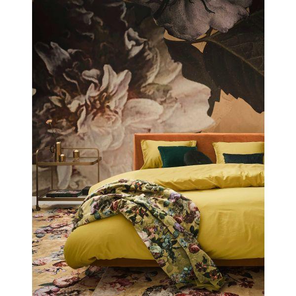 Plaid Essenza Fleur goud geel