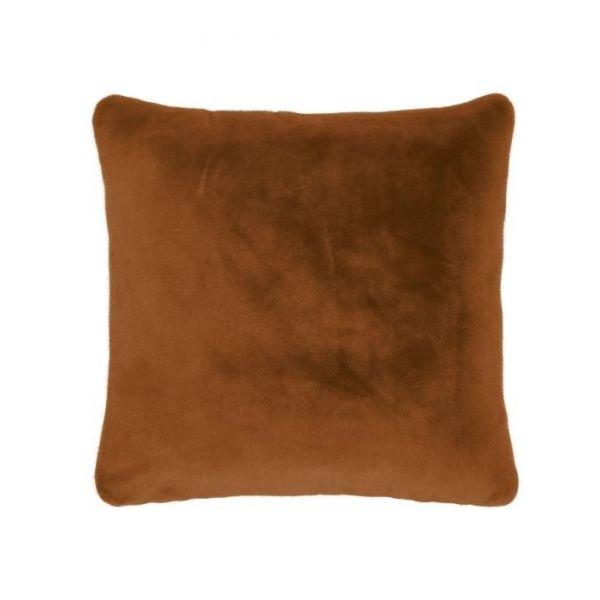 Plaid Essenza Furry Leather Bruin