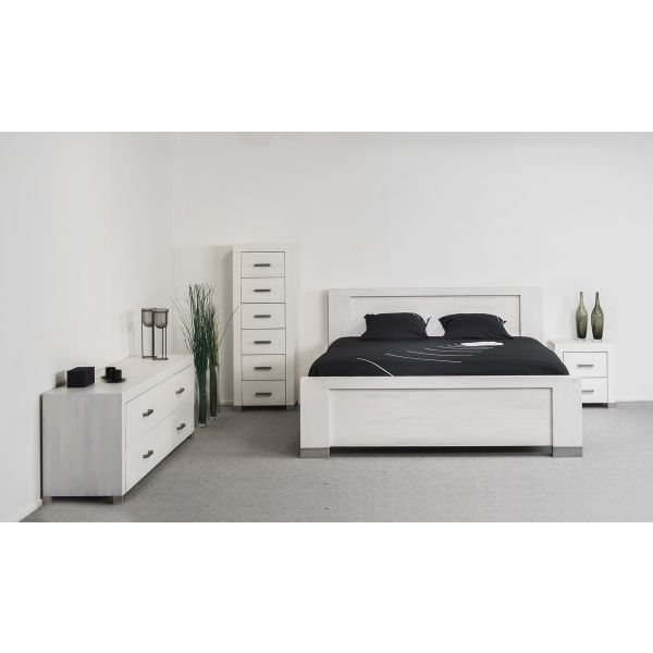 Slaapkamer Asconi whitewash