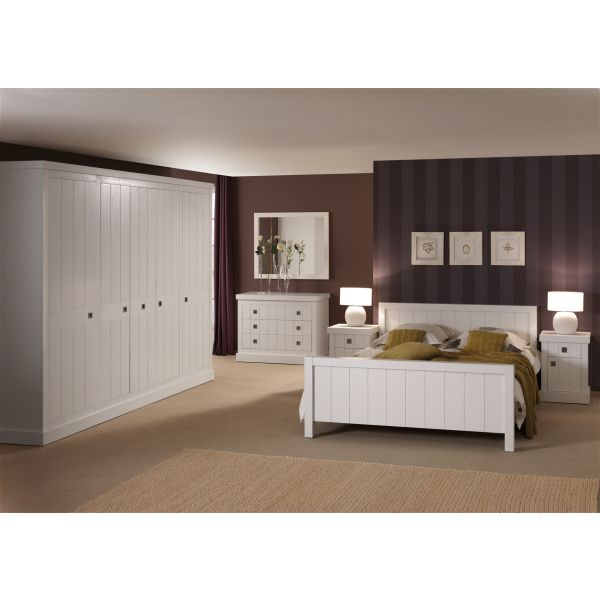 Witte slaapkamer Boston