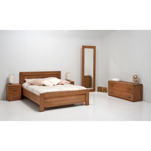 Slaapkamer Rovigo Bruin